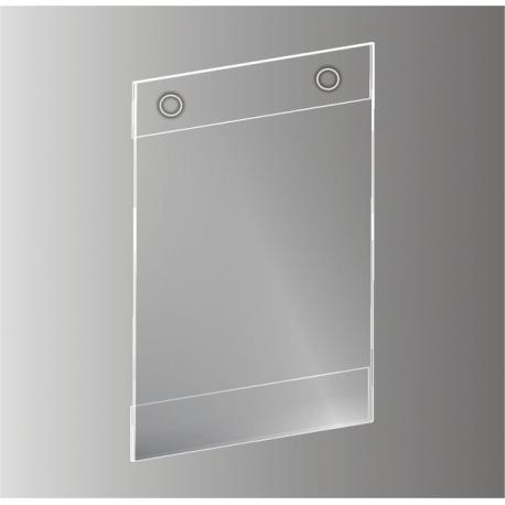 Plakato vokas su metalinėmis kniedėmis SKY-PVC-KN