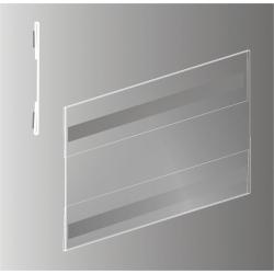 Plakato vokas su magnetu horizontalus SKY-PVC-TMH