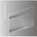 Plakato vokas su magnetu horizontalus SKY-PVC-MH