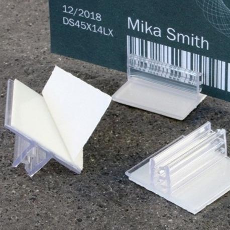 Klijuojamas kortelės laikiklis PR-GT 25x25