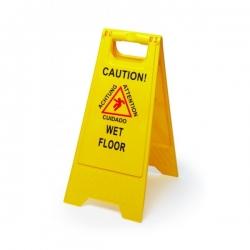 """Įspėjamasis stovas - ženklas ,,Šlapios grindys"""""""