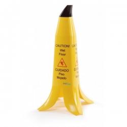 """Įspėjamasis stovas - ženklas ,,Šlapios grindys"""" bananas"""