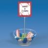 Prekių išpardavimo indas su info laikikliu MEZZ-D2