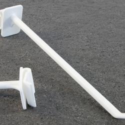 Užmaunamas plastikinis kablys