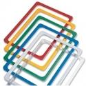 Plastikiniai rėmeliai ir jų laikikliai