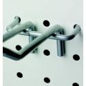 Perforuota siena - Metaliniai kabliai